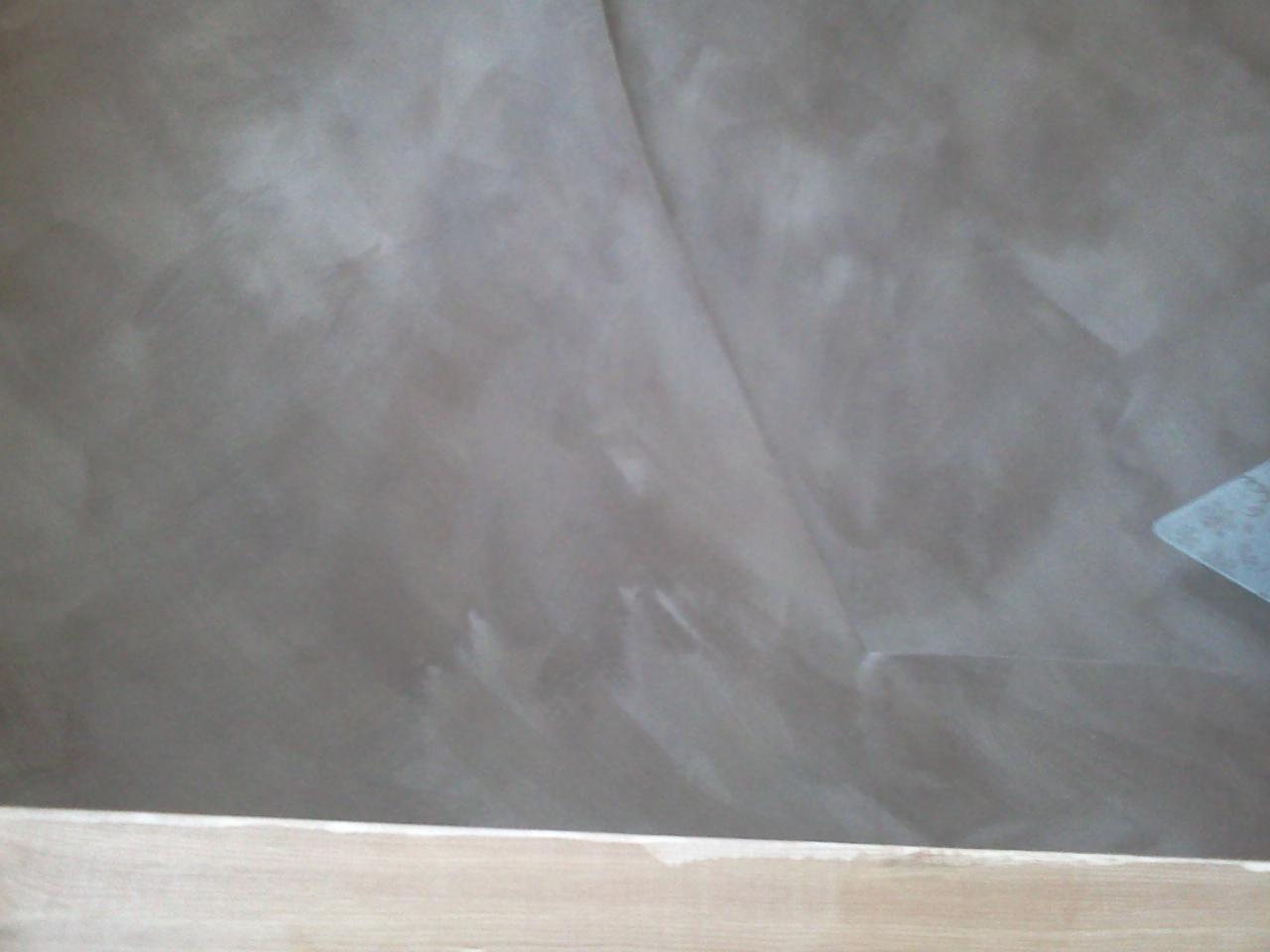 béton ciré - enduits chaux, terre, argile,... - Peinture Sur Enduit Chaux